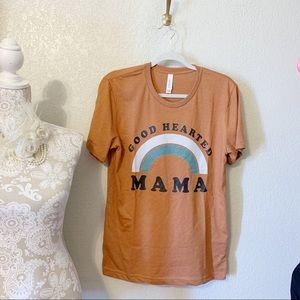 Good Hearted Mama Graphic Tee TShirt
